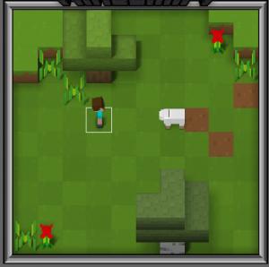 Blockly MineCraft Challenge 1