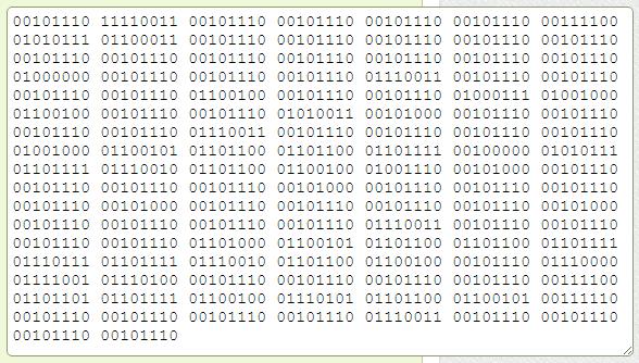 binary hello world python