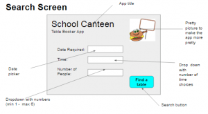 Booking system example
