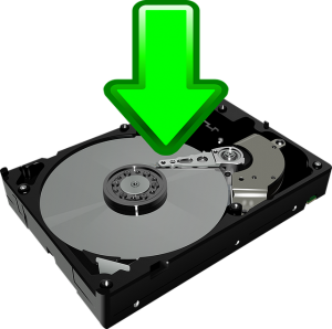 Components of a computer system storage devices