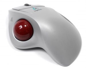 Trackerball (a.k.a trackball) - Useful for people with limited arm and hand movement.