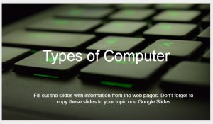 types of computer slides thumb
