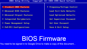 Google slides document