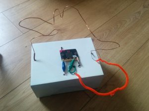 Microbit steady hand game completed project