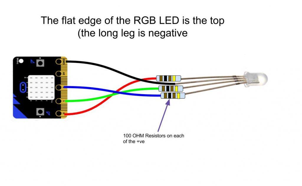 Controlling External Leds - Microbit