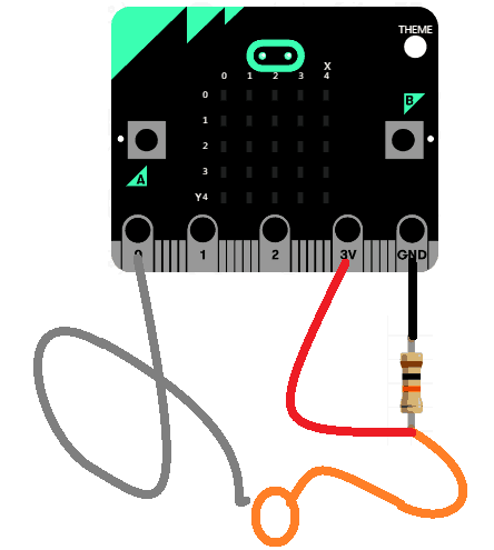 Microbit steady hand game wiring