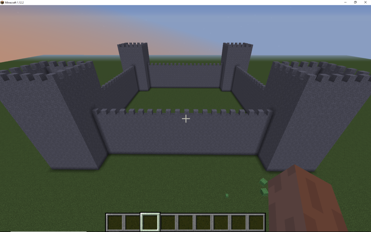 Code a Castle in Minecraft