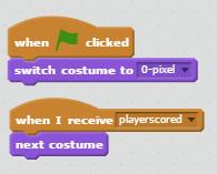 Player Score Code