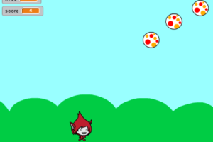 Dodge the falling balls game