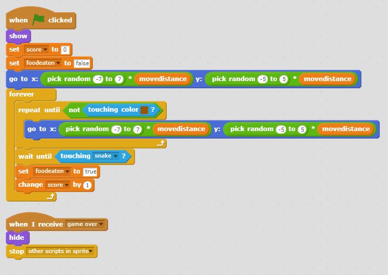 Snake Game - Discuss Scratch