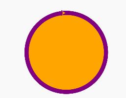 orange-and-purple-circle